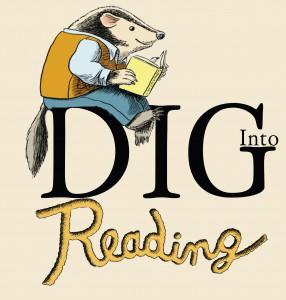 DIG into Reading Logo